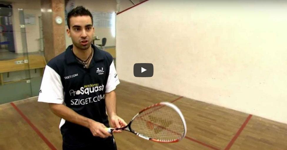 Fonák egyenes Squash Veszprém Fenyves Sport Club