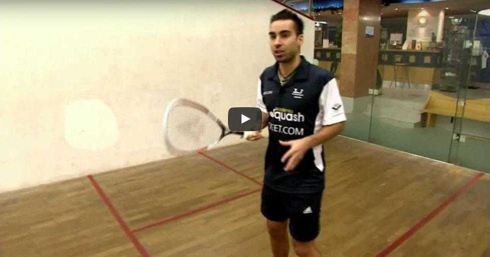 Fonák kereszt Squash Veszprém Fenyves Sport Club