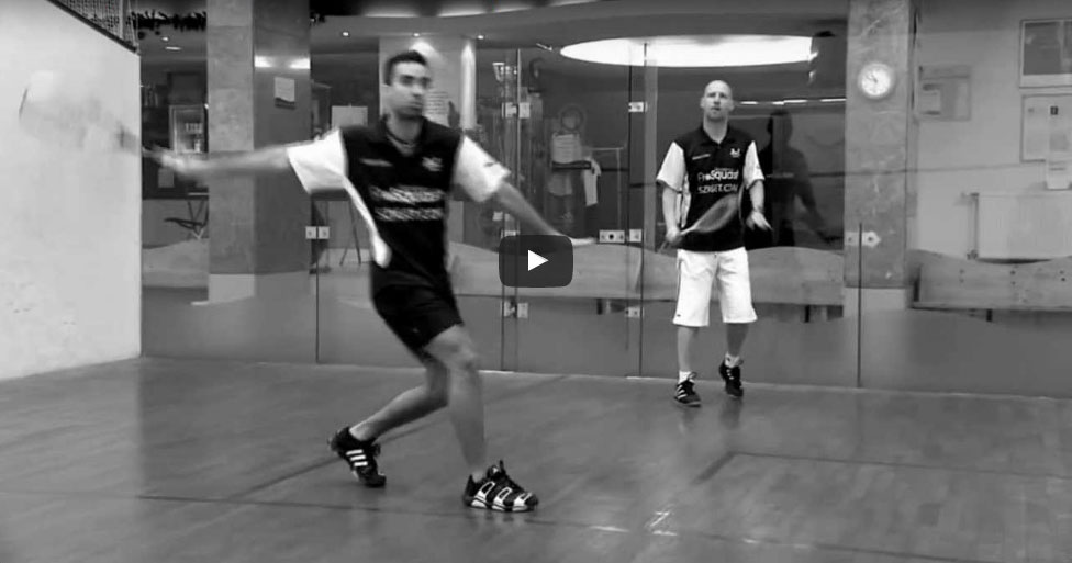 Fonák röpte Squash Veszprém Fenyves Sport Club