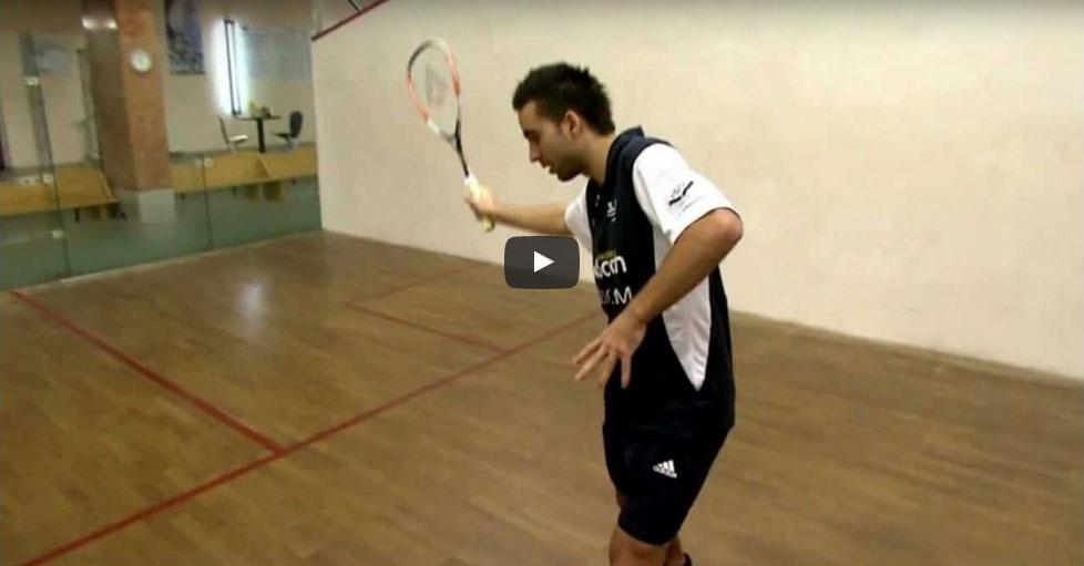 Tenyeres ütéstestechnika Squash Veszprém Fenyves Sport Club