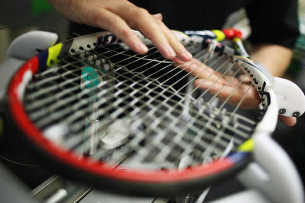 Squash és teniszütők húrozása